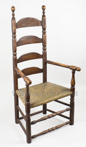 Ladder Back Armchair, Old Surface