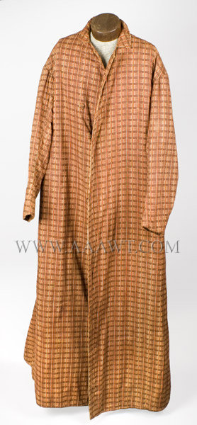 Antique Banyan, Man's Robe, Early 19th Century, entire view