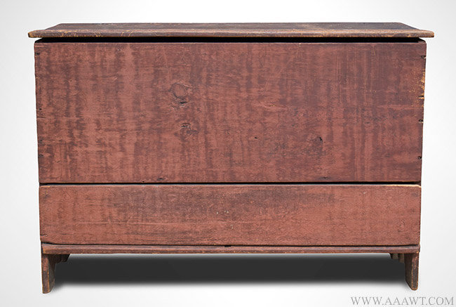 Antique Board/Blanket Chest with Drawer, Massachusetts, Circa 1720, entire view