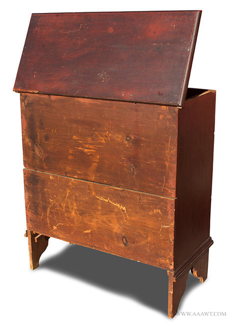 Antique Furniture Blanket Chests Two Drawer Lift Top
