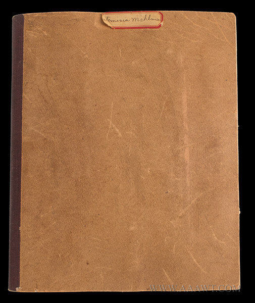 Antique Sewing Book by Artemisia Mehlman, cover