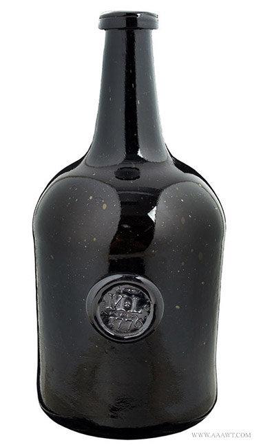 Antique Bottles Onion Demijohn Scent Flask