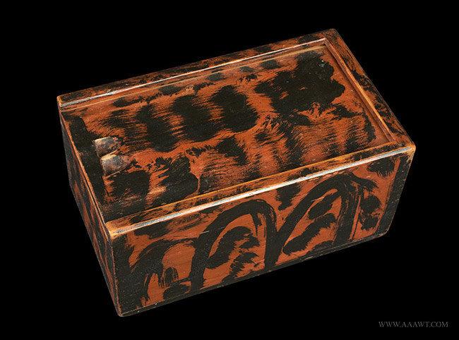 Antique Fancy Painted Boxes Paint Decorated Boxes