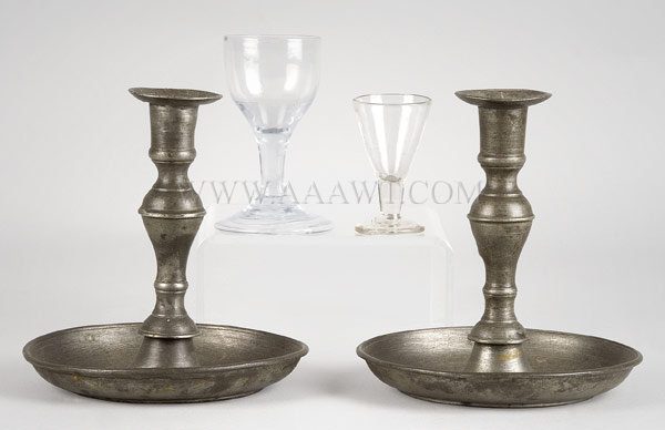 Wine Glasses and Candlesticks, entire view