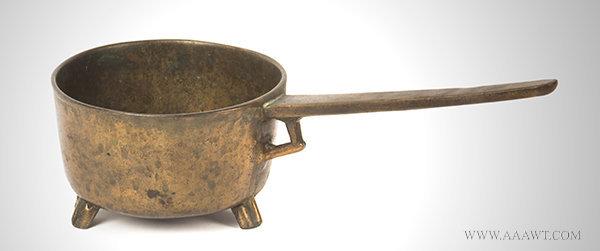 Antique Bronze Posnet Pot, Dutch, Early 17th Century, entire view