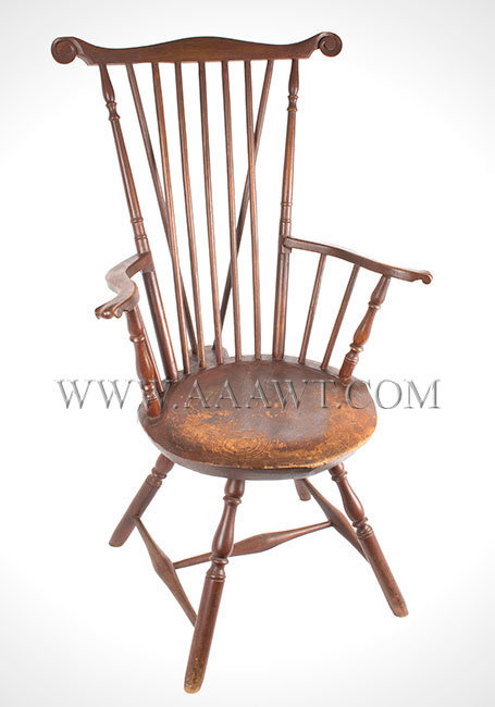 Fantastic Antique Furniture_Chairs, Early, Country, American OF68