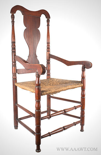 Armchair, Queen Anne, Large Size