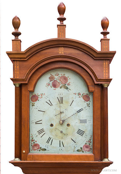 Antique Furniture Tall Case Clocks American Clocks Early