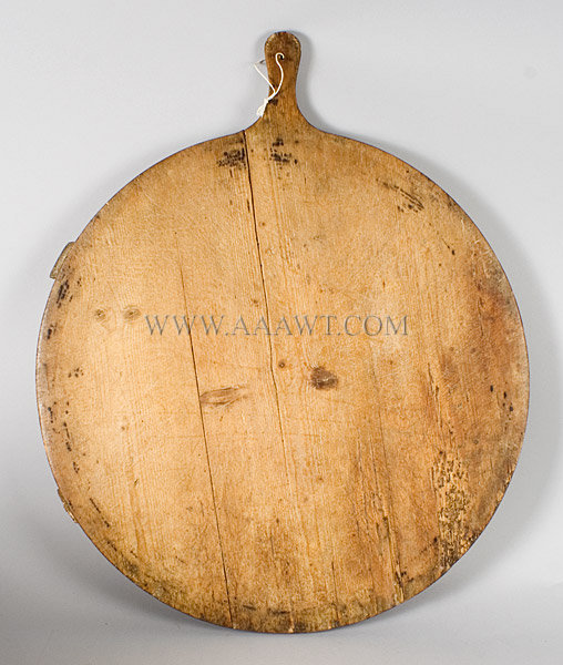 Noodle Board, Original Blue Paint Early 19th Century, entire view