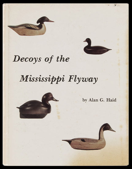 Decoys of the Mississippi Flyway, cover view