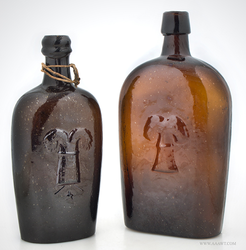 Pictorial Sheaf of Wheat Flasks, entire view