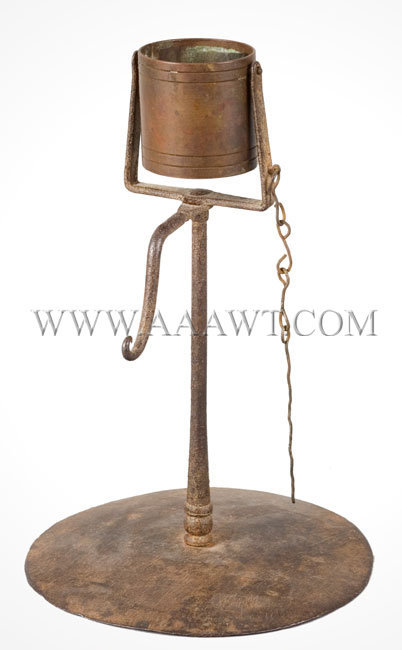Kettle Lamp, Gimbaled, Wick Pick