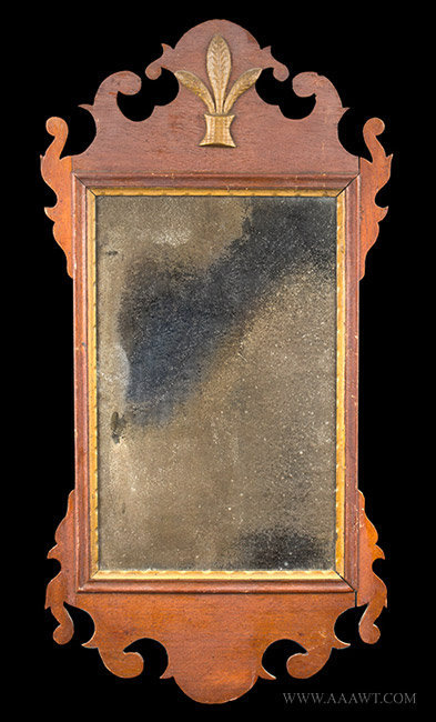 Antique Mirrors Looking Glass Courting Fragment Misc