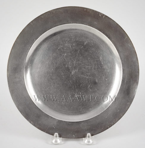 Pewter Plate, Samuel Hamlin