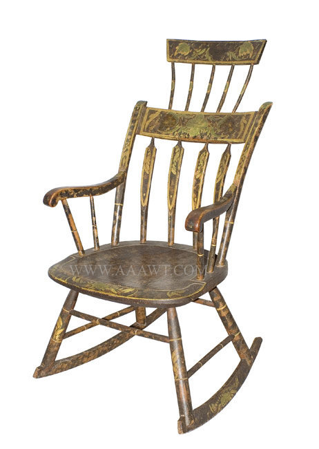 Wonderful paint above chair rail height - Carved Queen Anne Side Chairs Shaped Seat Rail Scratch Incised Legs
