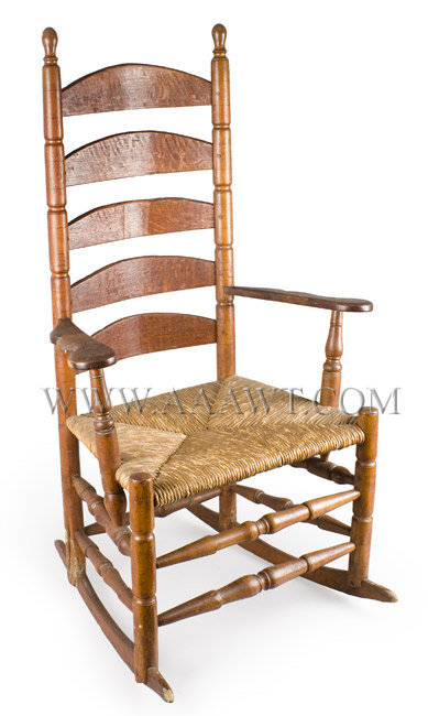 Early New England Rocking Chair, Always a Rocker
