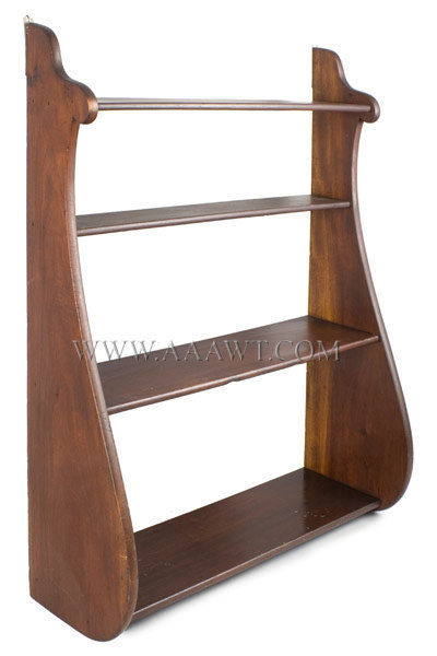 Shelves, Whale End Profile, Four Tiers New England 19th Century, entire view