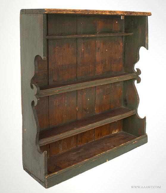 Antique furniture miscellaneous furniture shelves plant for Shelf life of paint