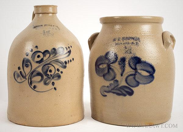 Antique Jugs Crocks Stoneware