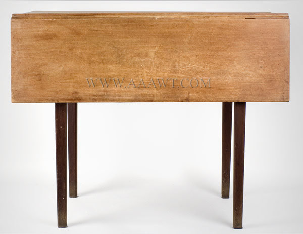Table, Drop Leaf, Scrubbed Top Labeled Cherry, entire view 2