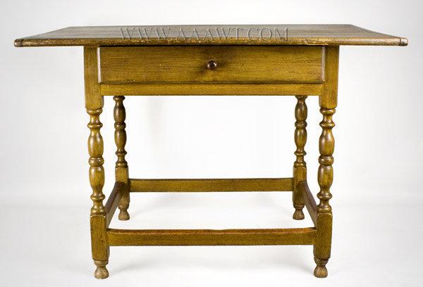Tavern Table, Original Surface History New England, Mid 18th Century, entire view