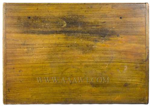 Tavern Table, Original Surface History New England, Mid 18th Century, top detail
