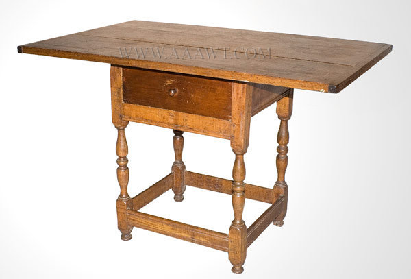 Tavern Table New England 18th Century, angle view