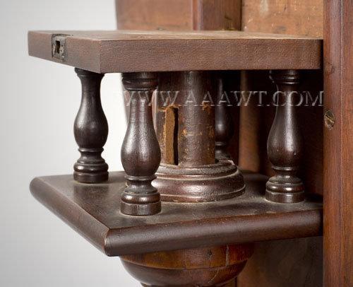 Tea Table, Tip Top Dished Top Circa 1780