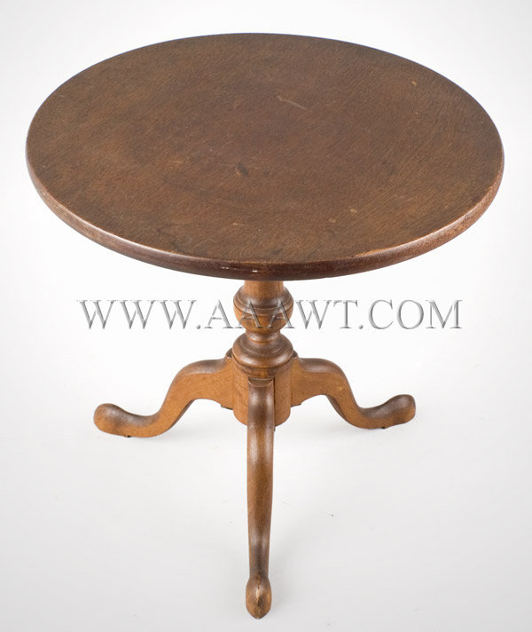 Doll Furniture, Tea table, Original Surface Second Half 19th Century, entire view