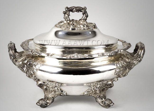 Silver, Tureen, Lidded