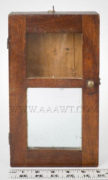 Antique American Watch Hutches Watch Holders Folk Art