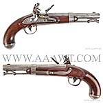 Pistols, Flintlock, Percussion